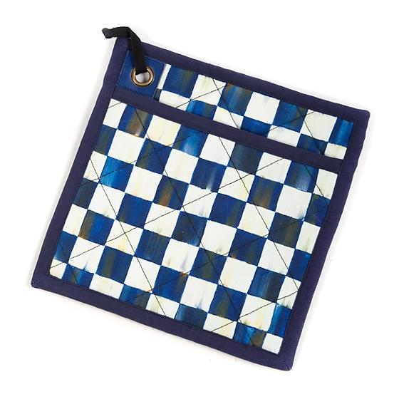 Royal Check Pot Holder