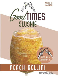 Peach Bellini Frozen Cocktail Mix