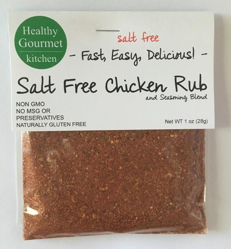 Chicken Rub-Salt Free