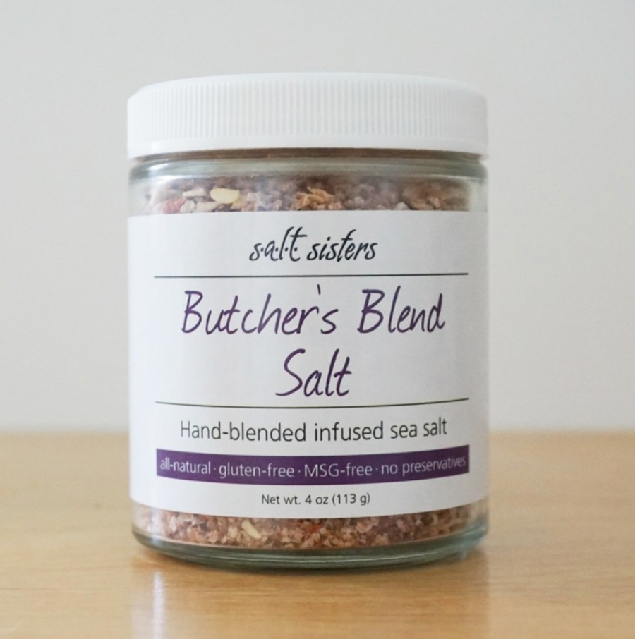 Butcher's Blend Salt 4 oz. Jar