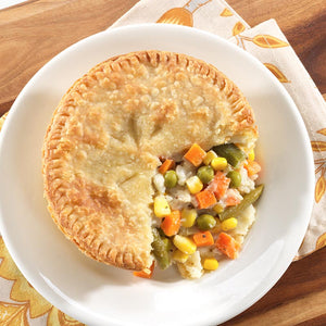 "Keto 5"" Veggie Pot Pie"