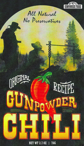 Mild Bill's Gunpowder Chili Mix