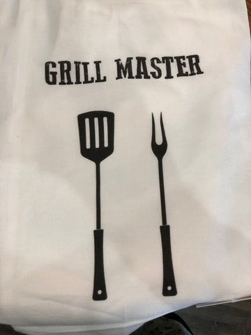Grill Master - Flour Sack Towels