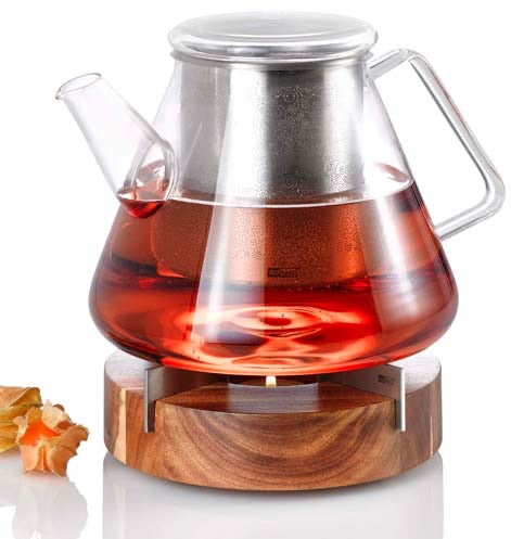 Teapot Warmer Acacia Wood