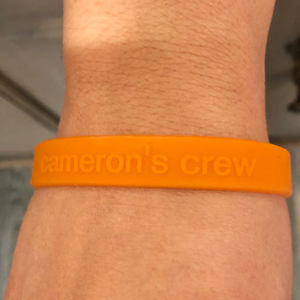 Cams Crew Adult Bracelet Orange