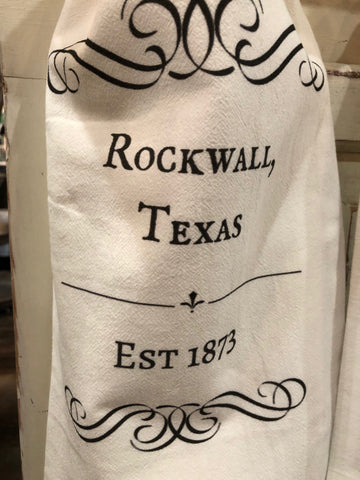 Rockwall, TX - Flour Sack Towels