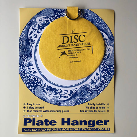 "4"" Disc Adhesive Plate Hanger"