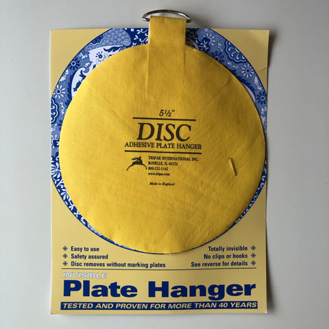 "5.5"" Disc Adhesive Plate Hanger"
