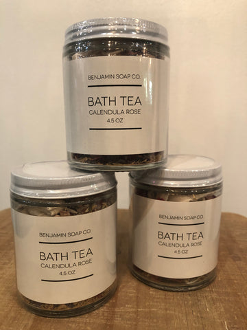Bath Tea Calendula Rose