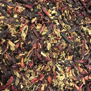 Herbal Peppermint Hibiscus Tea 4 oz. - Loose Leaf