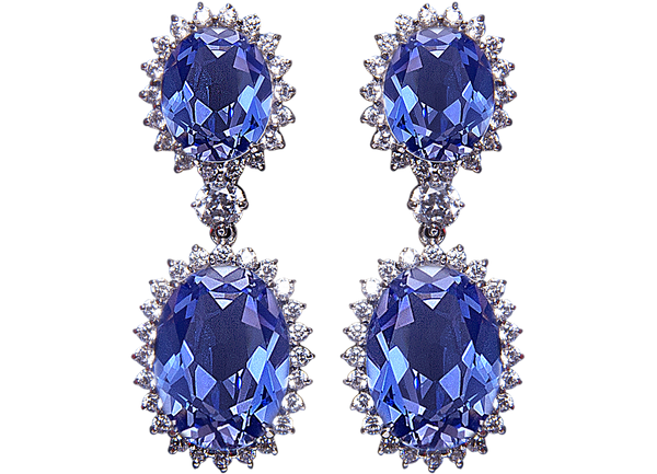 Prima Donna Earrings - Juwelina Paris