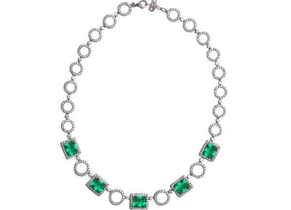 Rubain Necklace - Juwelina Paris