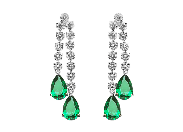 Fernie Verts Earrings - Juwelina Paris