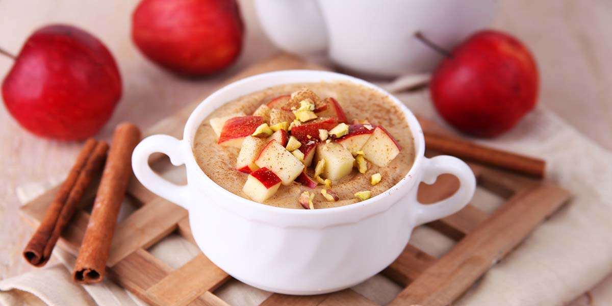 Collagen Builder Apple Pie a la Mode Overnight Oats