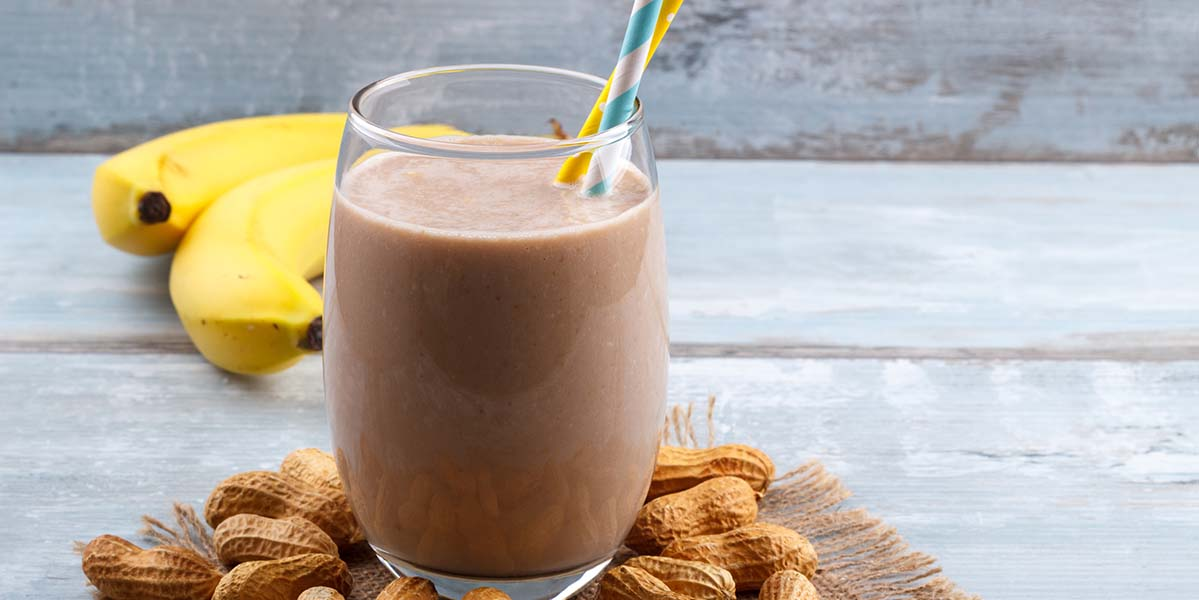 Chocolate PB2 Smoothie