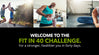 Welcome to the Fit in 40 Challenge