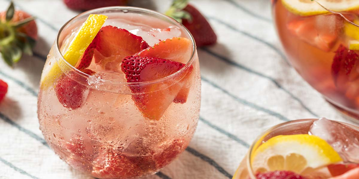 Strawberry Lemonade Beauty Mocktail