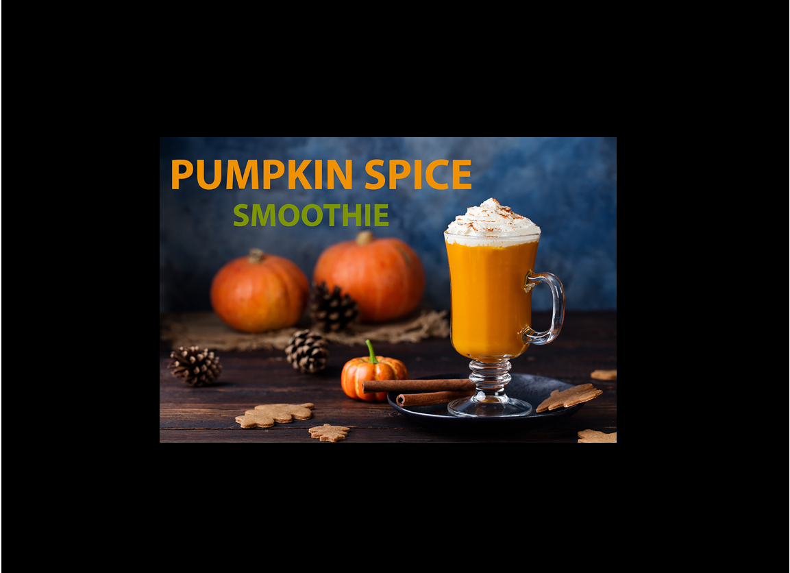 Vegan Collagen Pumpkin Spice Smoothie