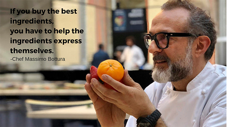 quote from chef massimo bottura