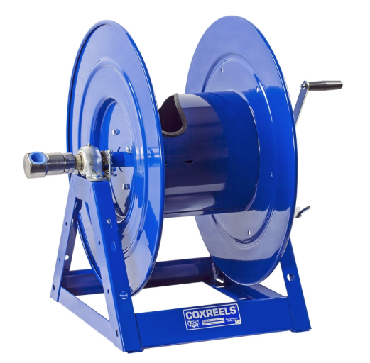 1175-6-100-AB : Coxreels 1175-6-100-AB  Compressed Air Motor Rewind Hose Reel: 1-inch I.D., 100' hose capacity, without hose, 30