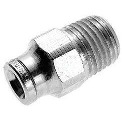 124250210-10PACK : Norgren Pneumatic Male Adapter, 5/32 tube O/D, 10/32 UNF thread