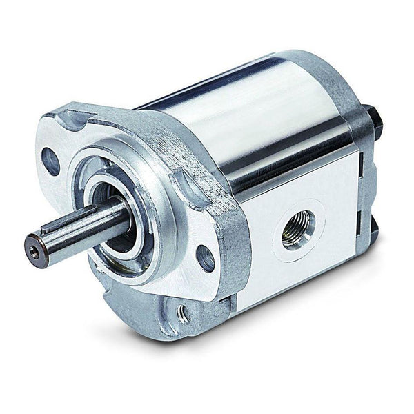 "1AG3U13R : Honor Gear Pump, CW Rotation, 13.5cc (0.82in3), 6.42 GPM, 2300psi, 2500 RPM, #8 SAE (1/2"") In, #6 SAE (3/8"") Out, 1/2"" Bore x 1/8"" Key, SAE AA 2-Bolt Mount"