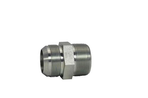"SS-2404-10-04-OHI : OHI 0.625 (5/8"") Male JIC x 0.25 (1/4"") Male NPT Straight, Stainless Steel"