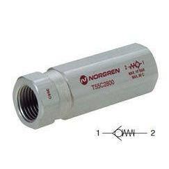 T55A1800 : Norgren T55 Series, Non-Return Check Valve, in-line, 1/8 inch NPT ports