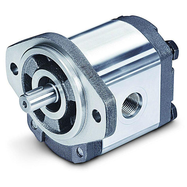 "2GG1U08R : Honor Gear Pump, CW Rotation, 8cc (0.49in3), 3.8 GPM, 3500psi, 4000 RPM, #12 SAE (3/4"") In, #10 SAE (5/8"") Out, 5/8"" Bore x 5/32"" Key, SAE A 2-Bolt Mount"