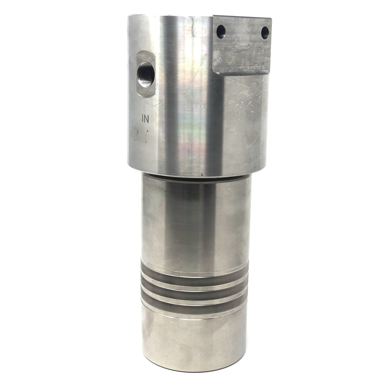 "52S-248N-12MDN : Chase Ultra High Pressure Inline Filter, 10000psi, 1/2"" NPT, 12 Micron, With Visual Indicator, No Bypass"