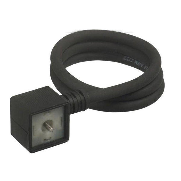 5JR664-5A1-US0A : Canfield Connectors, DIN (EN 175301-803-A) Electrical Connection, 6 foot Wire Length, 48-120V AC/DC 50/60Hz Op