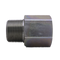 "7033-16-16-OHI : OHI Straight Adapter, 1"" Male NPT x 1"" Female BSPP, Steel"
