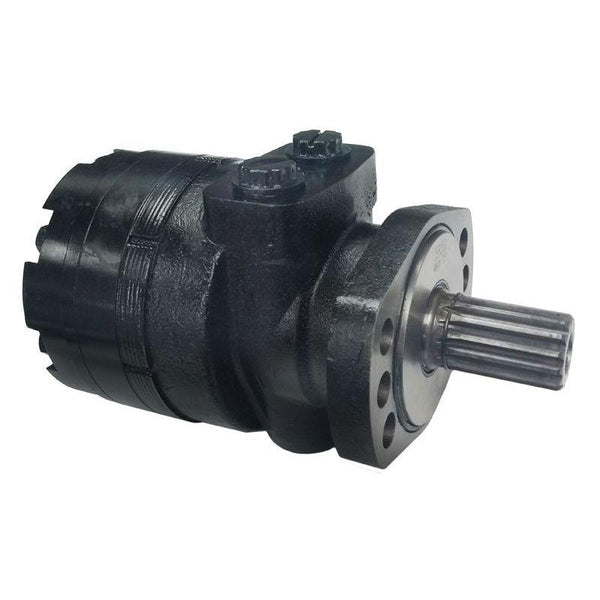 "BMER-2-375-FS-FD1-S-R : Dynamic LSHT Motor, 371cc, 200RPM, 8762in-lb, 2973psi Differential, 19.81GPM, Magneto Mount, 14-Tooth, 12/24 Pitch Shaft, Side Ported, #10 SAE (5/8"")"