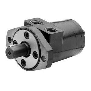"BMPH-250-H2-K-S : Dynamic LSHT Motor, 240cc, 250RPM, 3363in-lb, 2031psi Differential, 15.85GPM, SAE A 2-Bolt Mount, 1"" Bore x 1/4"" Key Shaft, Side Ported, #10 SAE (5/8"")"