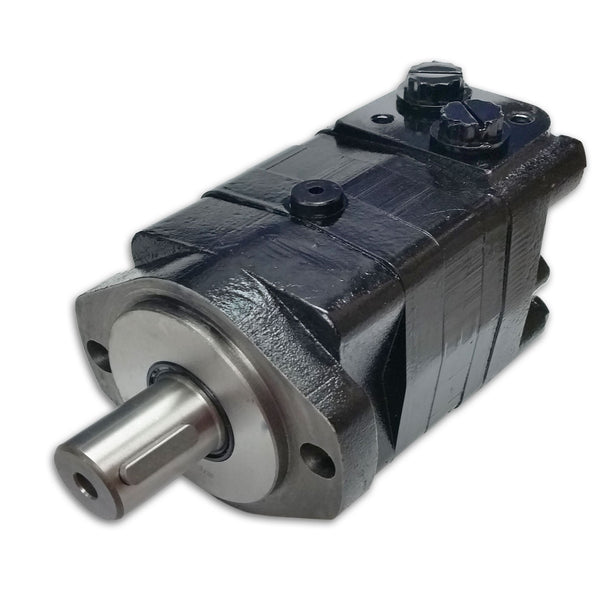 "BMSY-160-E2-G-S : Dynamic LSHT Motor, 154cc, 470RPM, 4292in-lb, 3045psi Differential, 19.81GPM, SAE A 2-Bolt Mount, 1.25"" Bore x 5/16"" Key Shaft, Side Ported, #10 SAE (5/8"")"