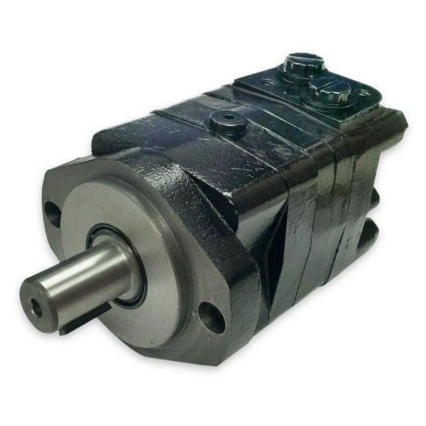 "BMSY-160-E2-K-S : Dynamic LSHT Motor, 154cc, 470RPM, 4292in-lb, 3045psi Differential, 19.81GPM, SAE A 2-Bolt Mount, 1"" Bore x 1/4"" Key Shaft, Side Ported, #10 SAE (5/8"")"