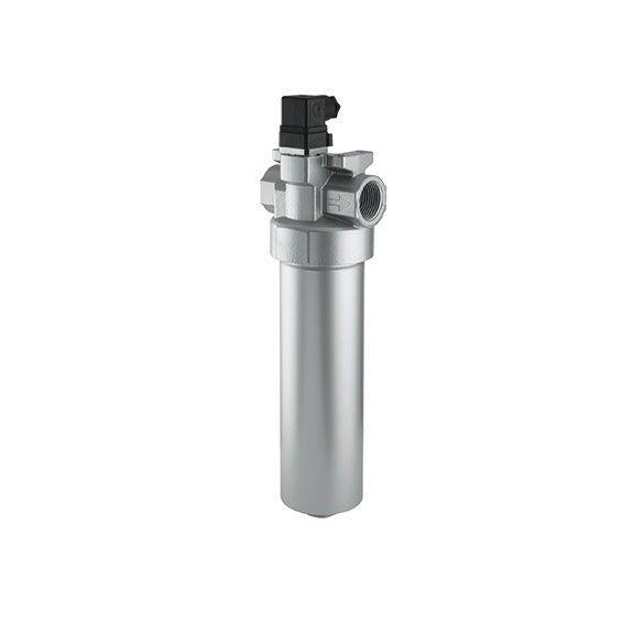 D 112-786 OD1 : Argo Pressure Filter,  1450psi, 52GPM, 10 Micron, #20SAE, With Ind., With Bypass