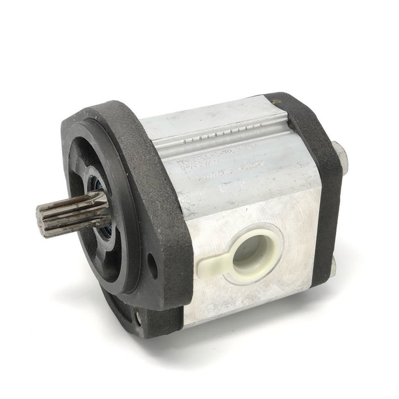 "GHP2A-D-20-S1 : Marzocchi Gear Pump, CW, 14.1cc (0.8601in3), 6.7 GPM, 3770psi, 3200 RPM, #12 SAE (3/4"") In, #10 SAE (5/8"") Out, Splined Shaft 9T 16/32DP, SAE A 2-Bolt Mount"