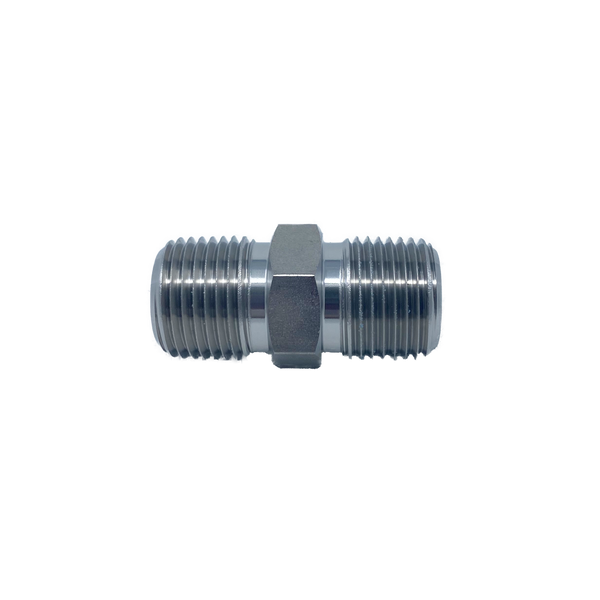 "IHN-6N : Superlok 3/8"" Male NPT Hex Nipple"