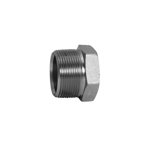 5406-P-12-OHI : OHI Adapter, 0.75 (3/4) External Hex Pipe Plug