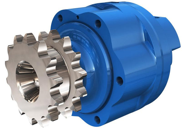 ML06-A-H8A-K05-7A10-2HKZ : Poclain ML Chain Drive Motor