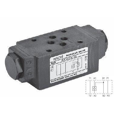 OCP-G01-A1-21 : Nachi D03 (NG6)  Pilot Operated Check Valve, 13.2GPM, 3625psi, Check Valve in Line A, 29psi Cracking
