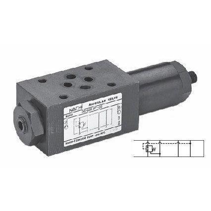 OG-G01-A1-21 : Nachi  Pressure Reducing Valve, D03 (NG6), 13.2GPM, 3625psi, Reduction on Port A, 115psi to 1000psi Range