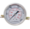 OHI-G-2.5-10K-U : OneHydraulics 2.5 Face Pressure Gauge, 0-10,000psi Range, 1/4 NPT, Panel Clamp Style