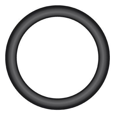 "OR-06 : O-RING FOR BSPP THREAD 90-DEG NBR, 0.375 (3/8""), Nitrile (Buna-N)"