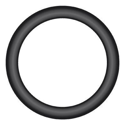 "OR-08 : O-RING FOR BSPP THREAD 90-DEG NBR, 0.5 (1/2""), Nitrile (Buna-N)"
