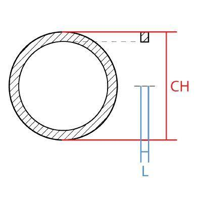 RR-16MM : RETAINING RING METRIC, 16mm, Carbon Steel