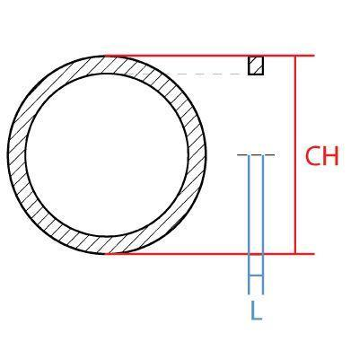 "RR-20 : RETAINING RING BSPP, 1.25 (1-1/4""), Carbon Steel"