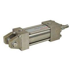 SC02A-B06-EMA00 : Norgren NFPA Series SS Stainless Steel Cylinder, 1-1/2 Bore x 2 Stroke, Fixed Clevis (MP1) Mount, Adjustable E