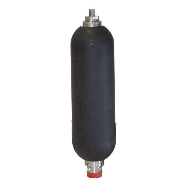 "BA20-05-SL-N-O-1-A : SFP Bladder Accumulator, Bottom Repairable, 5000psi, 5 Gallon (20 Liter), #24 SAE (1.5"")"